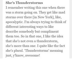 "Alex Turner on ""She's Thunderstorms"""