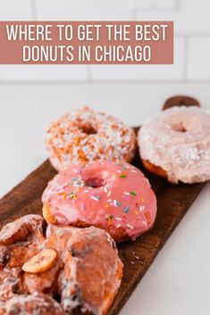 Where to Get the Best Donuts in Chicago Donut Recipes, Low Carb Recipes, Dessert Recipes, Desserts, Breakfast Recipes, Keto Donuts, Keto Cookies, Foodie Travel, Almond Flour