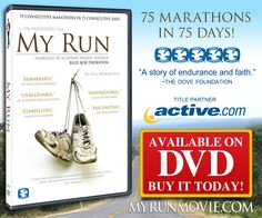 """See what's possible when physical endurance and the will of the human spirit unite in """"MY RUN"""", the award-winning and inspirational documentary narrated by Billy Bob Thornton. About the Terry Hitchcock, 57 yr. old man who ran 75 consecutive marathons in 75 consecutive days!  Watch at: http://www.myrunmovie.com and LIKE the fan page at:  http://www.facebook.com/myrunmovie"""