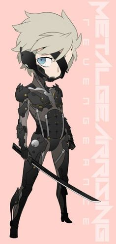 Raiden | Metal Gear Rising | Metal Gear Solid | VK