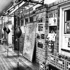 Vintage Boxing Gym!                                                                                                                                                      More