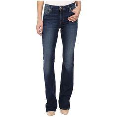 Joe's Jeans Honey Bootcut in Lyla (Lyla) Women's Jeans ($143) ❤ liked on Polyvore featuring jeans, zipper skinny jeans, mid rise jeans, boot-cut jeans, boot cut jeans and skinny fit jeans