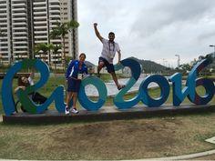 Primer día en la Villa Paralímpica :) #Rio2016 #EXTRio2016