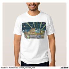 Ville des lumiere t-shirts