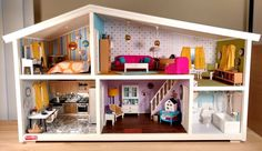 Today is the final day of the Dollhouse Therapy challenge. The last room to tackle was the kitchen. Come see this Lundby get a stainless steel kitchen!