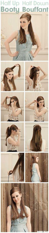 Do a super fun '60s bouffant. | 35 Impossibly Cute Quinceañera Hair Ideas