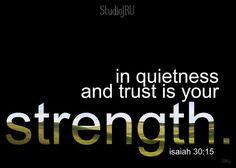 Is Your Strength encouraging Scripture print by StudioJRU