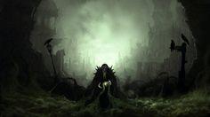 Dark Wizard Yomigaerishi Yami no Madoushi anime dark horror fantasy magic evil art wallpaper Dark Fantasy, Fantasy Magic, Fantasy Wizard, Dark Wizard, Medieval Fantasy, Paranormal, Sf Wallpaper, Nature Wallpaper, Evil Art