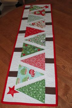 Sewcial Stash table runner