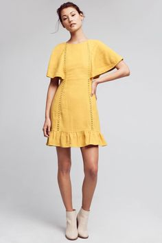 Shop the Fluttered & Flounced Dress and more Anthropologie at Anthropologie today. Read customer reviews, discover product details and more.
