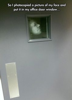 Funny pictures about Looking For An Office Prank? Oh, and cool pics about Looking For An Office Prank? Also, Looking For An Office Prank? Camp Pranks, Funny Office Pranks, Work Pranks, Senior Pranks, Office Humor, Funny Pranks, Funny Memes, Jokes, Office Prank Ideas