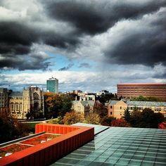 View from the top - of the Ross School of Business!