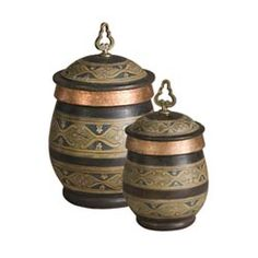 Cena Canisters, Set of Two