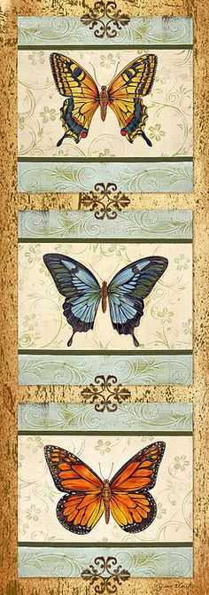 I uploaded new artwork to fineartamerica.com! - 'Butterfly Trio-4' - http://fineartamerica.com/featured/butterfly-trio-4-jean-plout.html via @fineartamerica