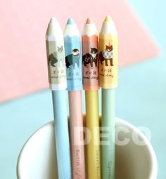 Cute gel pen Kawaii design signature pens for school stationery Office zakka(ss-a868)