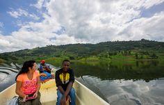 lake bunyonyi, boat tour, uganda travel