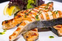 Grilled salmon - Grillatut lohipihvit, resepti – Ruoka.fi
