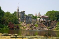 Turtle Pond and Belvedere Castle, Central Park NYC Turtle Pond, Central Park Nyc, Historical Fiction, Natural History, Us Travel, Castle, New York, Explore, Adventure