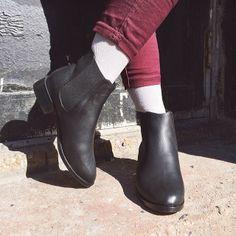 The City Boot. #AmericanApparel
