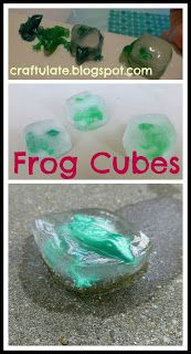 Craftulate: Frog Cubes