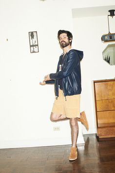 Band of Outsiders Spring 2014 Menswear Collection Slideshow on Style.com