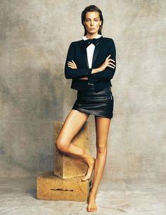 Daria Werbowy, la beauté magnétique. Rencontre avec le top canadien qui règne sur le monde de la mode
