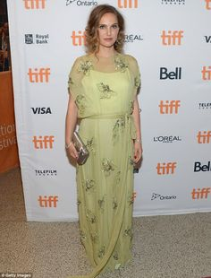 Maternity in style! Natalie Portman kept up with appearances on Sunday night as she attended the Jackie screening at Toronto Film Festival
