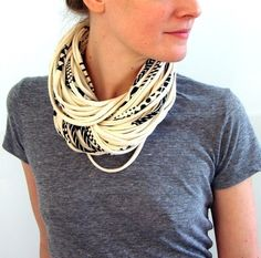 T-Shirt Scarves easy to make