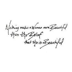 You are so beautiful...
