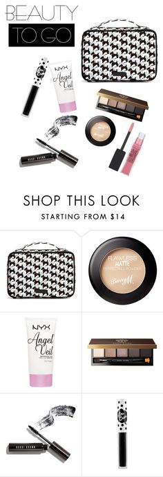 """On the go"" by coco29v ❤ liked on Polyvore featuring beauty, Vera Bradley, NYX, Bobbi Brown Cosmetics, Lime Crime and Maybelline"