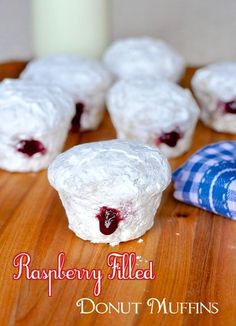 Muffin Tin Recipes, Donut Recipes, Cooking Recipes, Rock Recipes, Big Donuts, Fried Donuts, Donut Muffins, Omlet Muffins, Mini Muffins