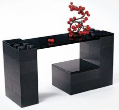 LEGO table.