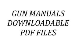 ON-LINE MANUAL FOR ALMOST EVERY GUN ON EARTH. FANTASTIC RESOURCE TO HAVE. Pin for later.