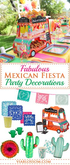 Must have Cinco de Mayo Decorations and Ideas!!!  All the fiesta party ideas for a fabulous celebration!!