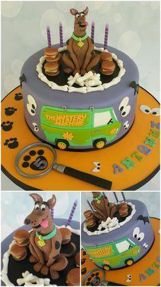 Scooby-Doo cake