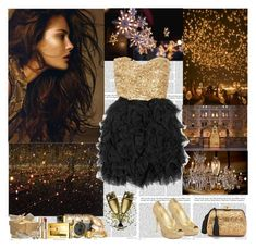 """""""Waiting for the New Year's Eve"""" by vexybabe ❤ liked on Polyvore featuring Once Upon a Time, Chinese Laundry, Etro, La Moda, Dolce&Gabbana, Guerlain, Rare Opulence, Fendi, NARS Cosmetics and Nadri"""