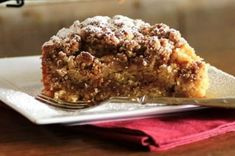 """""""Maple Syrup Pecan Coffeecake Recipe is a dense, moist and sweet coffeecake that you can have with your morning coffee or enjoy it after your meal for dessert. Made with pure maple syrup you are just going to love how amazing it tastes. Cupcake Recipes, Baking Recipes, Dessert Recipes, Delicious Desserts, Yummy Food, Sweet Breakfast, Breakfast Dishes, Sweet Bread, Coffee Cake"""