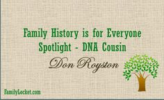 YDNA success story!! Family History is for everyone series.