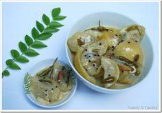Vella Naranga Achar / White Lemon Pickle
