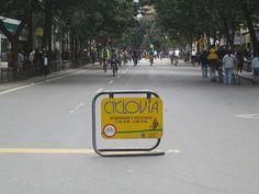 Ciclovia, Bogota - community action for sustainability - CASwiki Pedestrian, Latin America, Sustainability, Street View, Action, City, Engineering, Community, Shape