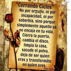 Motivational Quotes | Closing Cycles | Paulo Coelho [Haga clic para leer una versión ampliada de esta cita]