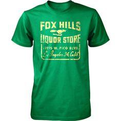 LA Fox Hills Liquors Tee  by Long Lost Tees