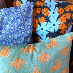Thanks to #spoonflower, my #repeatdesigns are now pillows. How fun is that? #interiordesign #color #pattern #print