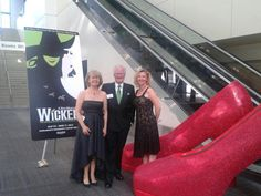 WICKED themed party with giant ruby slippers