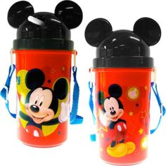 Disney Mickey and Minnie Flatware (Mickey Mouse Canteen) *** Visit the image link more details.
