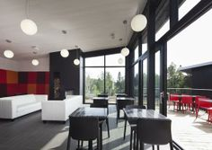 Station Blu by Blouin Tardif Architecture