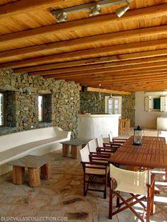 Phaedra Villa Outside Sitting Area