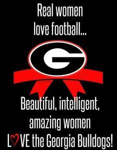 Beautiful, intelligent and amazing women Love their Dawgs!