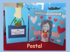 Novo Vento Sudeste Mothers Day Crafts, Fathers Day Gifts, Teaching Social Skills, Jr Art, Diy And Crafts, Teacher, Kids, Handmade, Family Activities