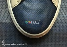 The World's first vegan wooden sneakers by nat-2™ #nat2 #nat2footwear #woodensneakers #wood #vegan #madefromwood #innovation #germanengineering #madeinitaly #veganfashion #sustainable #fair #eco #shoeporn #sneakerporn German high end sneaker brand nat-2™ presents the world's first vegan wooden sneakers. The result looks anything but the usual eco stuff. The 100% vegan, unisex sneaker's uppers are made from real sustainable wood, which covers up to 90% of the shoe's surface, depending on each…